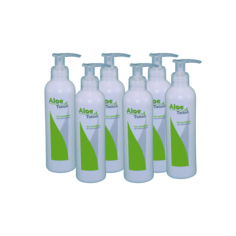 Aloe Tattoo Pack 6 uds. 200ml. (7,06OZ)